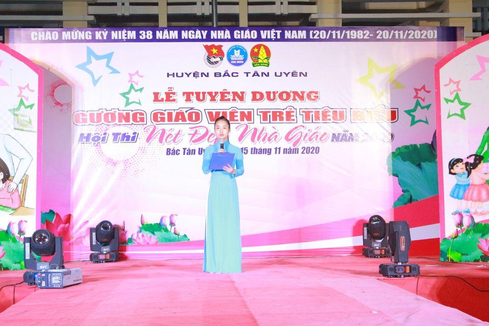 Lễ tuyên dương Gương giáo viên trẻ tiêu biểu đat thành tích xuất sắc trong công tác Đoàn- Đội và phòng trào TTN huyện Bắc Tân Uyên năm học 2019- 2021.